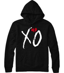 xo crew love the weeknd the hills hip hop pull over hoodie