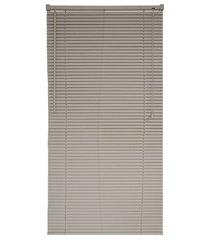 persiana horizontal pvc block 160x160cm bege