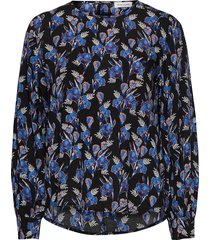 blouse long-sleeve blus långärmad multi/mönstrad gerry weber