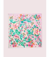 kate spade new york full bloom silk square scarf