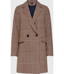 abrigo only beige - calce regular