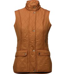barbour wray gilet vest oranje barbour