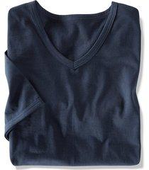 t-shirt babista vit::marinblå::svart
