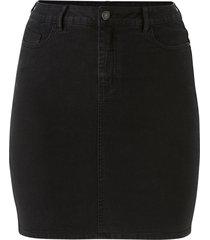 jeanskjol vmhot nine hw pencil skirt