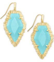 kendra scott stone drop earrings