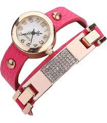 reloj rosa re-44007
