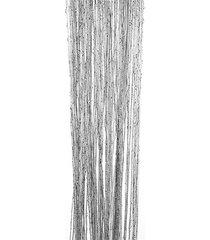 200cm x 100cm brillante borla flash línea cortina de cadena de puerta