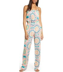 women's luli fama strapless cover-up jumpsuit