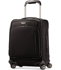 """closeout! samsonite silhouette xv 19"""" carry on spinner suitcase"""