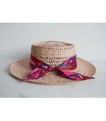 kapelusz pink