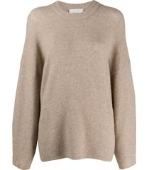 3.1 phillip lim round neck jumper - grey