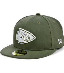 new era kansas city chiefs basic fashion 59fifty cap