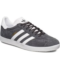 gazelle låga sneakers grå adidas originals