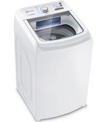 lavadora de roupas electrolux essential care led14, cesto inox, branco, 14 kg - 110 volts