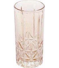 conjunto 6 copos altos vidro para drink stella âmbar 360ml