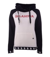'47 brand oklahoma sooners women's callback revolve hooded sweatshirt