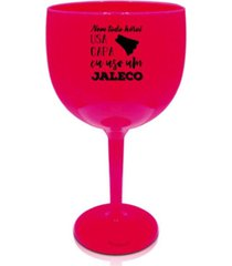 2 taã§as gin rosa acrãlico personalizadas profissional da saãºde - rosa - dafiti