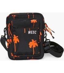 concept one men's palm-print crossbody bag