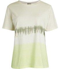 oversized ombre & tie-dye t-shirt