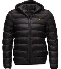 lightweight puffer jacket fodrad jacka svart lyle & scott