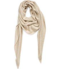 akris trapezoid cashmere & silk scarf in beige at nordstrom