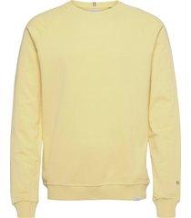 calais sweatshirt sweat-shirt tröja gul les deux