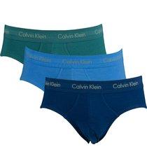 calvin klein slip ck 3pak stretch multi