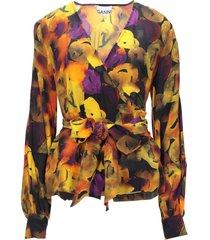 ganni blouses
