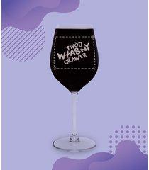 kieliszek do wina mały z własnym nadrukiem