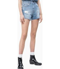 shorts regular beatrix azul calvin klein