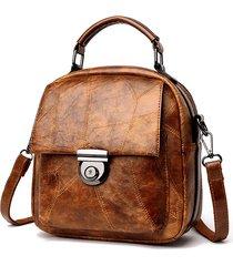 spalla borsa della borsa del progettista della banda del retro del cuoio sintetico per le donne