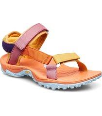 kahuna web apricot orange shoes summer shoes flat sandals multi/mönstrad merrell