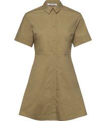 barbara short dress 10783 korte jurk grijs samsøe samsøe