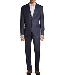 modern-fit 2-piece wool suit