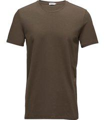 m. lycra tee t-shirts short-sleeved brun filippa k