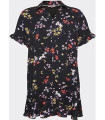 vestido printed floral tommy jeans