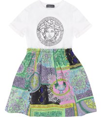 young versace printed skirt dress