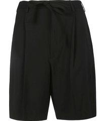 ambush poly & wool suit shorts