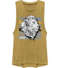 disney juniors' lion king king festival muscle tank top