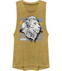disney juniors' lion king king festival muscle tank top