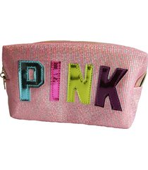 cosmetiquera pink rosada cm -275
