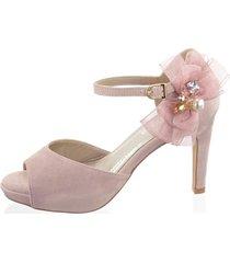 sandaletter alba moda nude::rosa