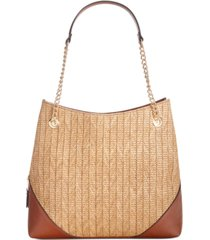 inc trippii straw chain tote, created for macy's