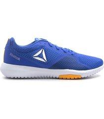 zapatillas para hombre reebok flexagon force cn6528 - azul