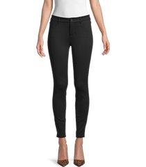 paige women's verdugo ultra skinny stretch pants - black - size 31 (10)