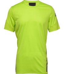 25/7 tee runr t-shirts short-sleeved gul adidas performance