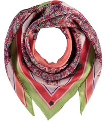 fraas paisley silk square scarf
