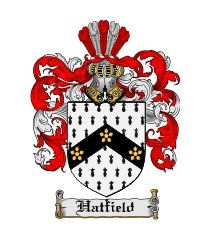 hatfield family crest / coat of arms jpg or pdf image download