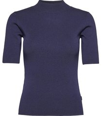 5181 - della t-shirts & tops knitted t-shirts/tops blå sand