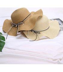 1 pieza de decoración con lazo de perlas de imitación sombrero
